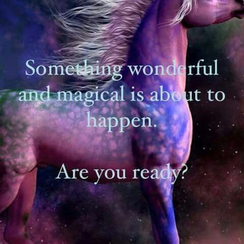 Something wonderful and magical is about to happen. Are you ready? #quote #inspiration #quoteoftheday