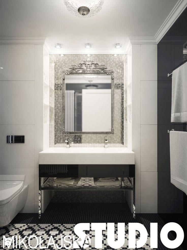 łazienka-glamour style - zdjęcie od MIKOŁAJSKAstudio - Łazienka - Styl Glamour - MIKOŁAJSKAstudio