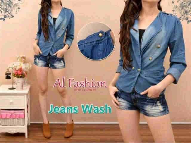 Jeans wash Rp. 85.000 fit L