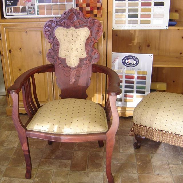 This antique chair repair and reupholstery turned out fantastic! We wanted  to restore this old - Best 25+ Chair Repair Ideas On Pinterest Seat Covers For Chairs
