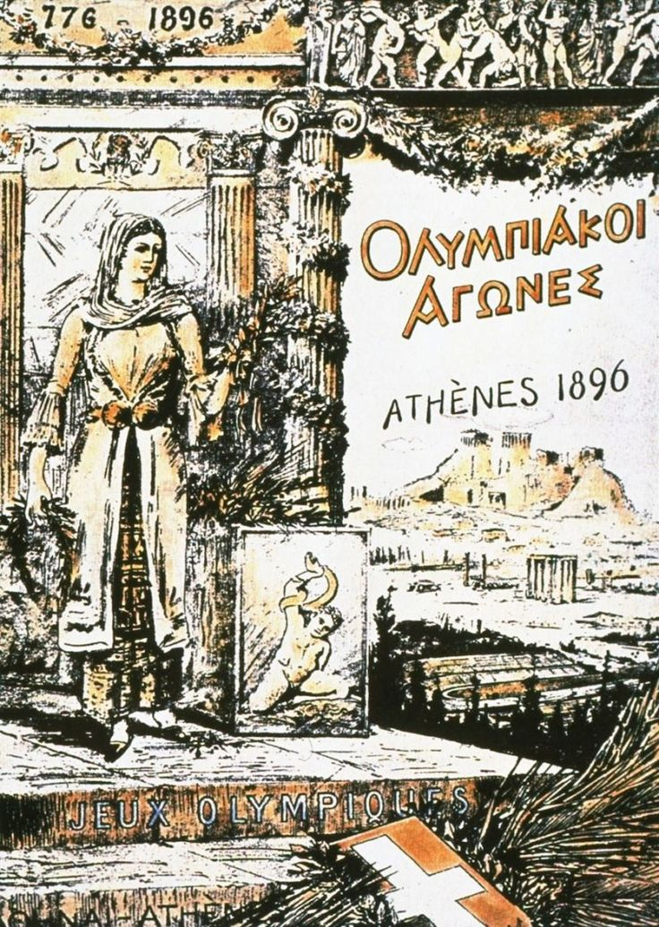 Beautifully Designed Olympic Posters from 1896 to Today Athens 1896