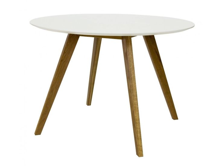 Stół Bess biały — Stoły Tenzo — sfmeble.pl  #scandinavian  #style  #interior  #homedesign #furniture  #table
