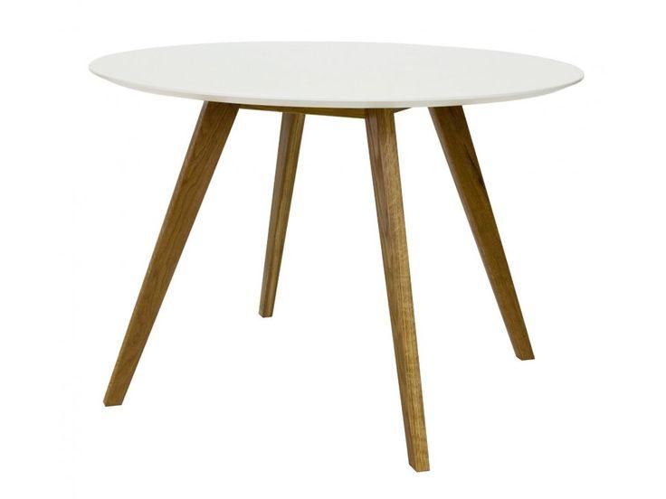 Stół Bess biały — Stoły Tenzo — sfmeble.pl  #scandinavian  #style  #interior  #homedesign #furniture  #table