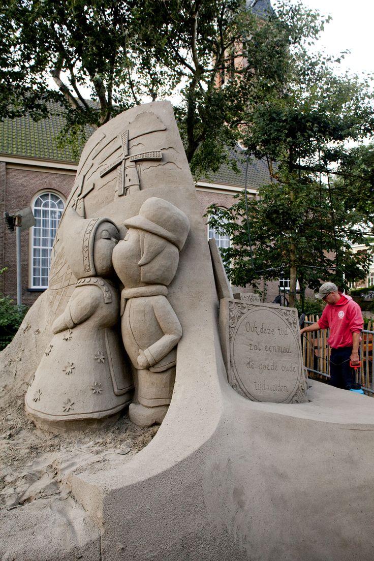 Nederland, EK Zandsculpturen, Zandvoort aan Zee #sandsculptures