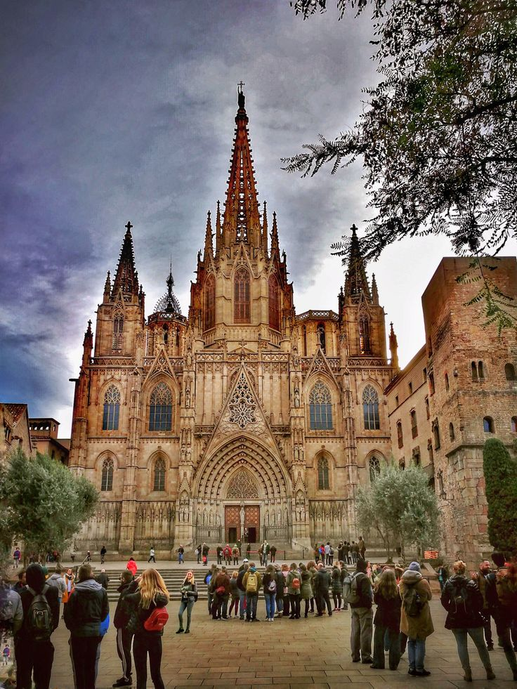 https://flic.kr/p/FwpVYw | Barcelona Cathedral... | The Cathedral of the Holy Cross and Saint Eulalia also known as Barcelona Cathedral, is the Gothic cathedral and seat of the Archbishop of Barcelona.