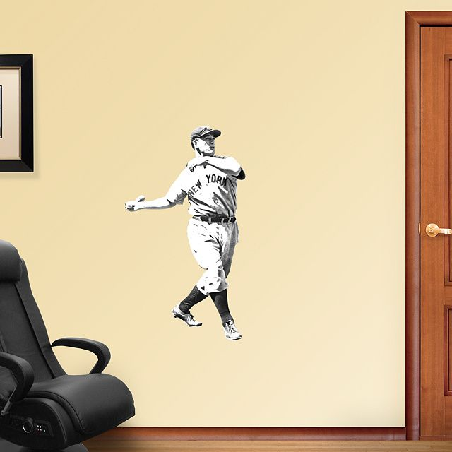 Lou Gehrig - Fathead Jr. Wall Graphic | New York Yankees Wall Decal ...