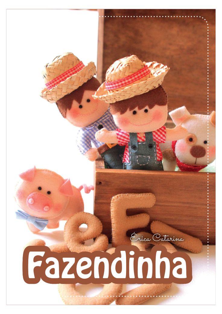 Apostila fazendinha By Erica Catarina Blog Ei, menina