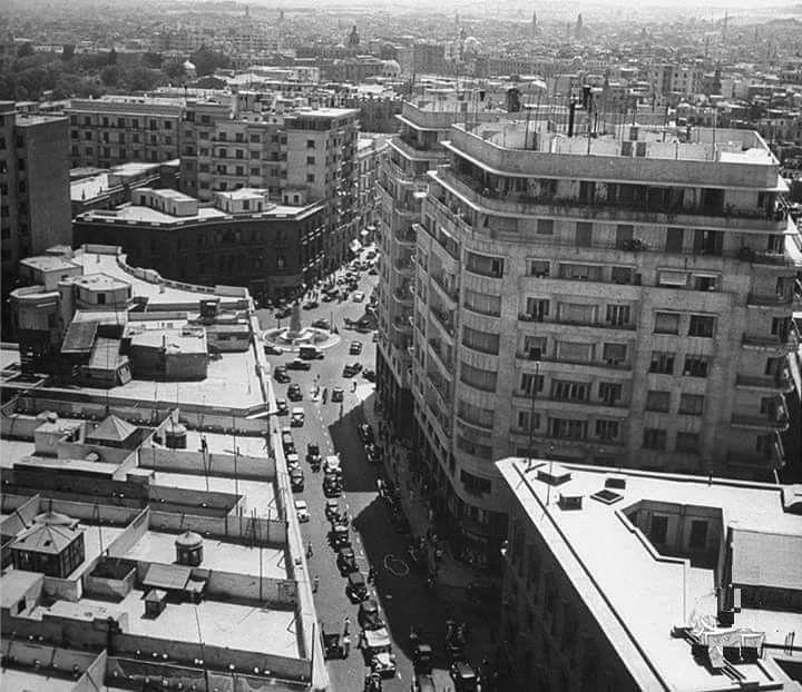 اسطح المنازل في القاهرة فترة الأربعينات نظيفه وجميله ومنظمه Landmarks Times Square Travel