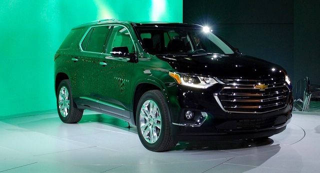 2019 Chevy Traverse Side In Black 2019traverse Chevy Westside