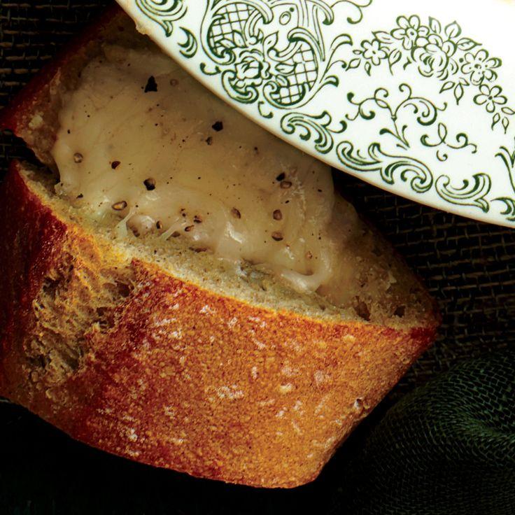Cheesy Garlic French Bread | MyRecipes