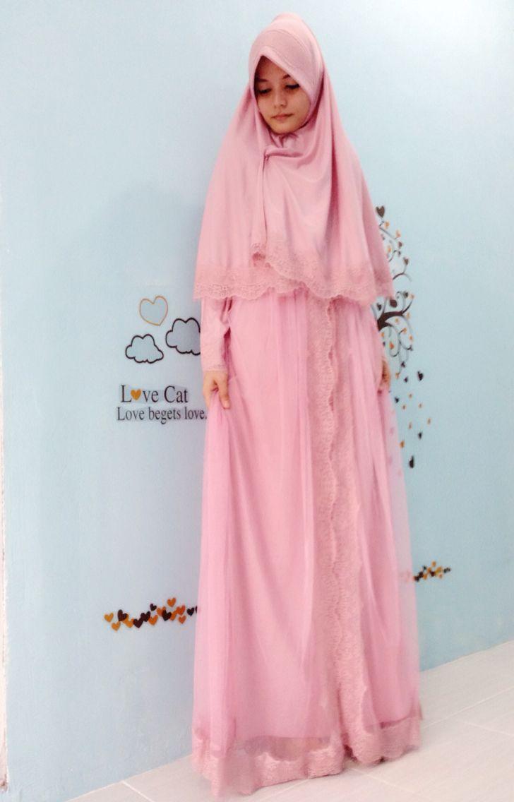 Hijab syari with tile
