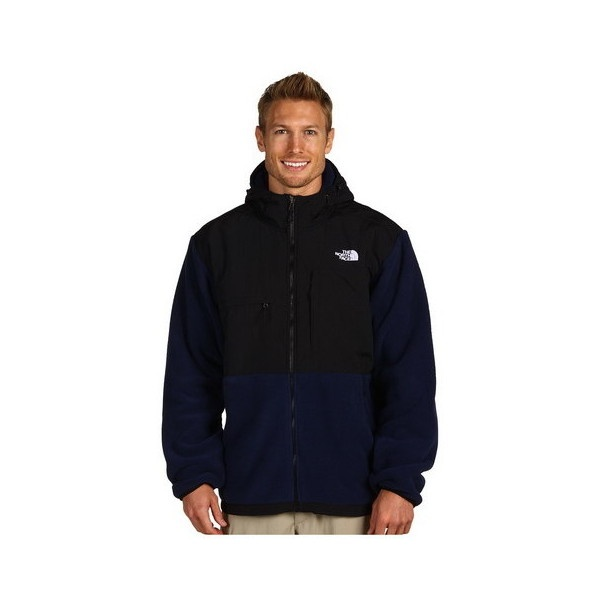 Mens The North Face Fleece Denali Hoodie Black Blue [The North Face 207] - $83.87 : The North Face Jackets Sale, Cheap North Face Jackets Outlet Clearance found on Polyvore