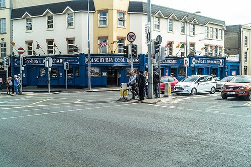 O'SHEA'S PUB ON MERCHANTS QUAY - DUBLIN DIARY 17 MAY 2014 [The Streets Of Ireland]