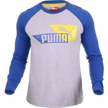 Camisa Puma LS Layered Sleeve Tee - http://batecabeca.com.br/camisa-puma-ls-layered-sleeve-tee.html