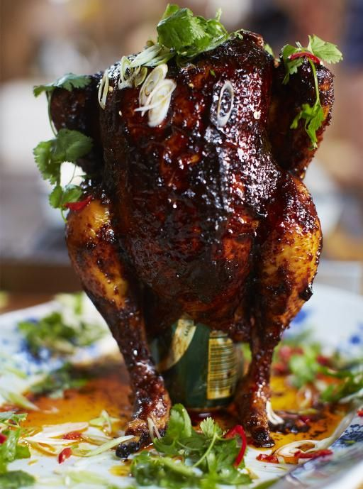 Sweet & spicy beer can chicken | Jamie Oliver | Food | Jamie Oliver (UK)