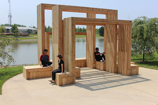 A Daily Dose of Architecture: Gathering Pavilion