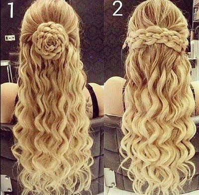 New Elegant Designs Of Hair Style Fashion 2015 For Teen Girls Tutorials Hair Pinterest