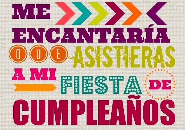 Invitación fiesta de cumpleaños imprimible gratis www.manualidadesytendencias.com #cumpleaños #fiesta #invitaciones