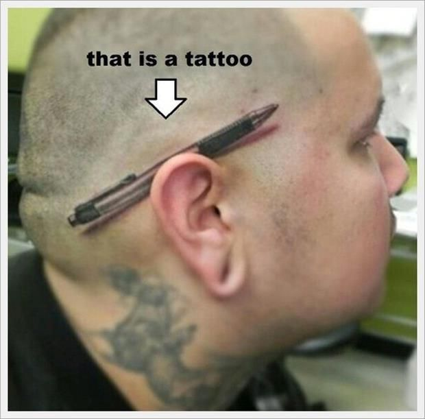 The Best Of Bad Tattoos – 25 Pics wow its actually kinda cool