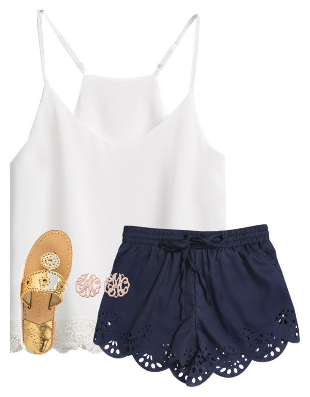 """""""Happy Easter!!"""" by ponyboysgirlfriend ❤ liked on Polyvore featuring Jack Rogers"""