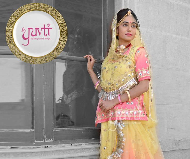 When you transfuse the inherited traditions into exquisite design, you get Yuvti. #DesignerCollection #Royal #IndianAttire #Ethereal #Traditional #Ethnic #Exclusive #Yuvti