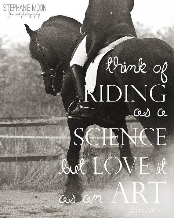Pferd-Rücken Reiten Fine Art print Pferd Zitat von stephaniemoon