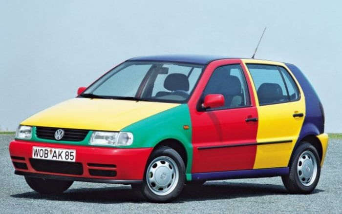 Let S Not Forget That In 1995 Vw Came Out With This Volkswagen Polo Volkswagen Classic Cars
