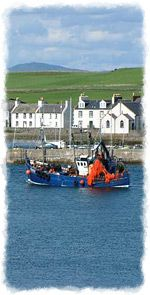 Fishing Boat at The Isle of Whithorn