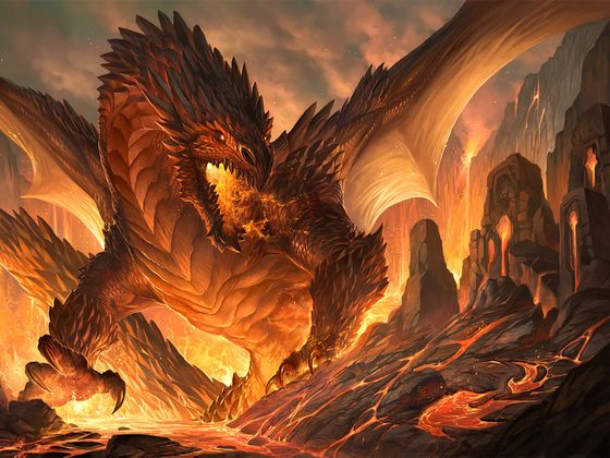Evil Fire Dragon: 58 Best Images About Dragons On Pinterest