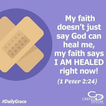 faith healing Creflo Dollar