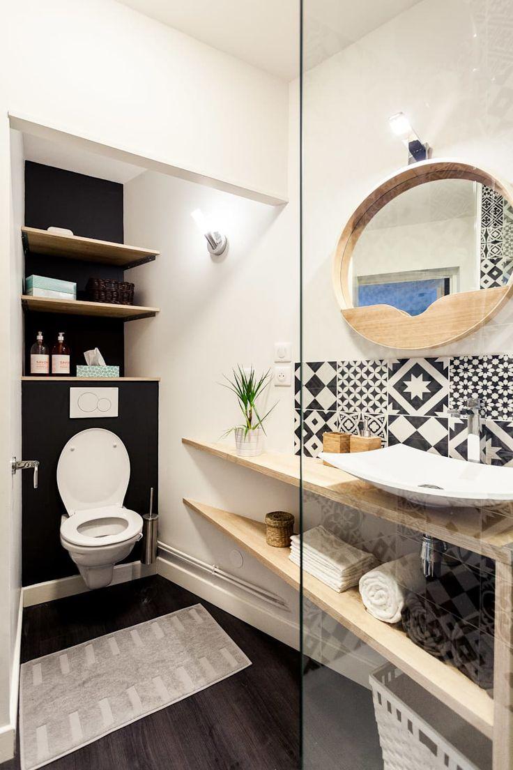 les 25 meilleures id es de la cat gorie salle de bain scandinave sur pinterest scandinave. Black Bedroom Furniture Sets. Home Design Ideas