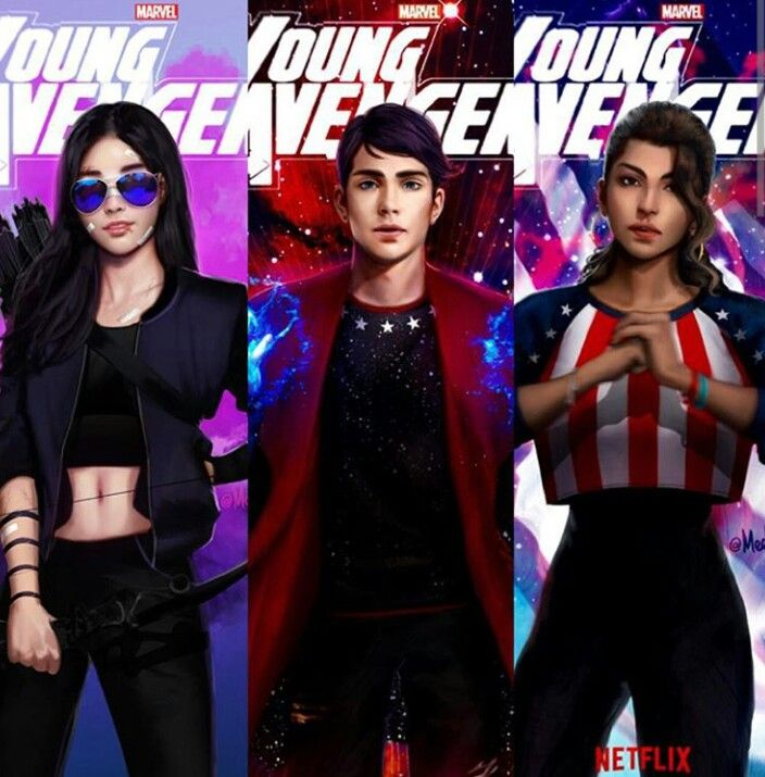 Young Avengers - Netflix °°