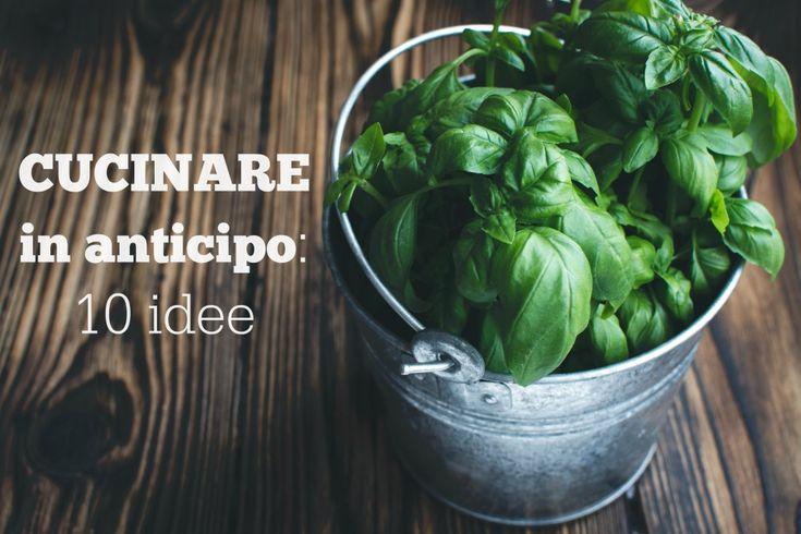 Una soluzione per semplificare l'organizzazione domestica è cucinare in anticipo. Questo ci permette di preparare ricette sane e gustose, senza trovarsi impr