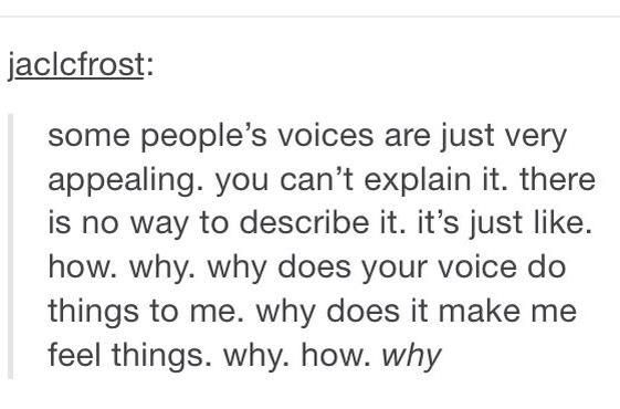 Basically Ashton (or Luke when he does that really sexy deep voice bit in She Looks So Perfect and like every other song!)