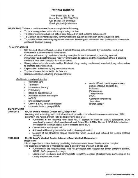 Pin By Ahmad Thekingofstress On Kumpulan Contoh Resume Nursing