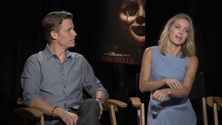 Annabelle Wallis and Ward Horton - Annabelle - Interview
