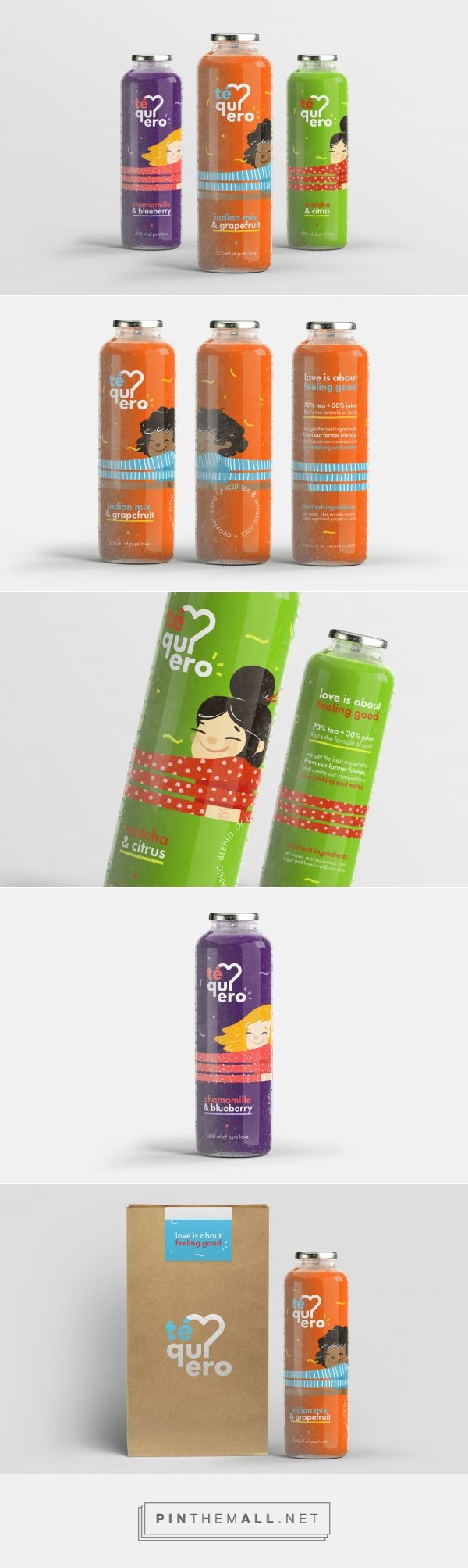Té Quiero (Concept) - Packaging of the World - Creative Package Design Gallery - http://www.packagingoftheworld.com/2017/07/te-quiero-concept.html