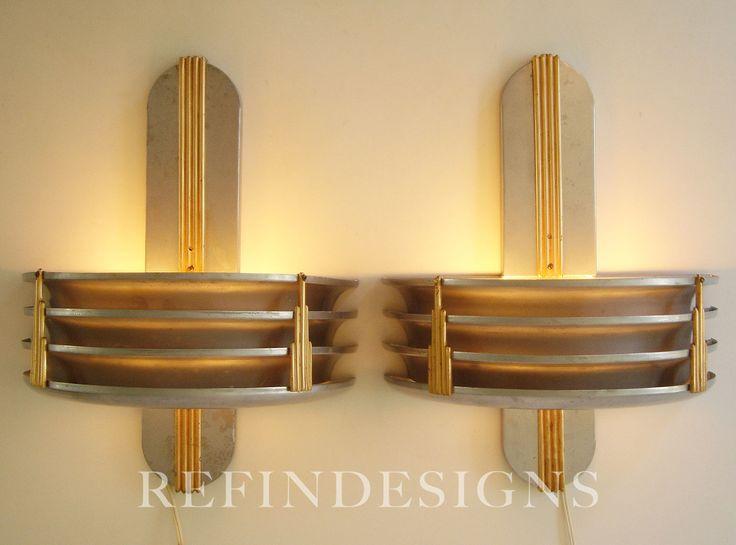 185 best Art Deco LIGHTING images on Pinterest | Art nouveau, Art ...