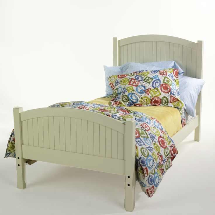 antique white milk paint from general finishes on unfinished furniture bed