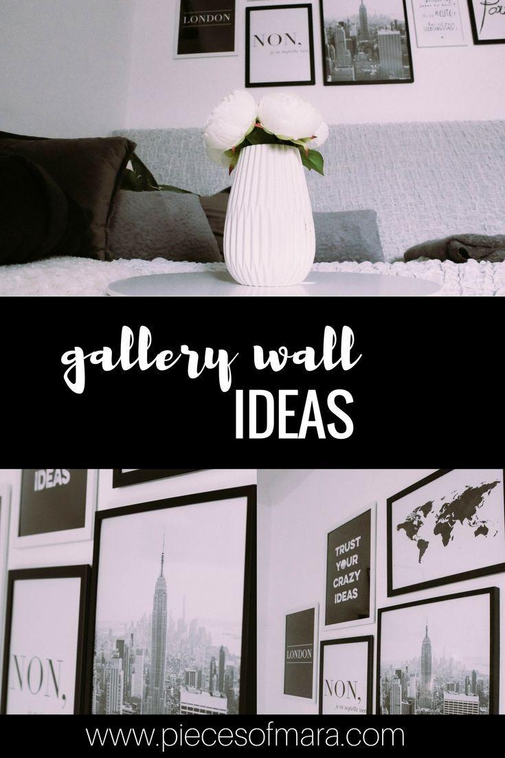 In 5 Schritten zur Gallery Wall - Ideen, Inspirationen,... piecesofmara.com