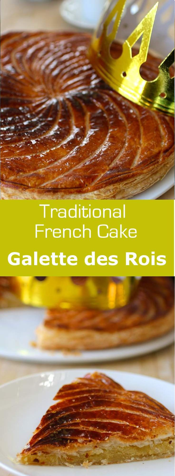 Pithivier is a traditional galette des rois (King Cake for Epiphany) from the Centre region of France. This recipe uses almond paste instead of frangipane.