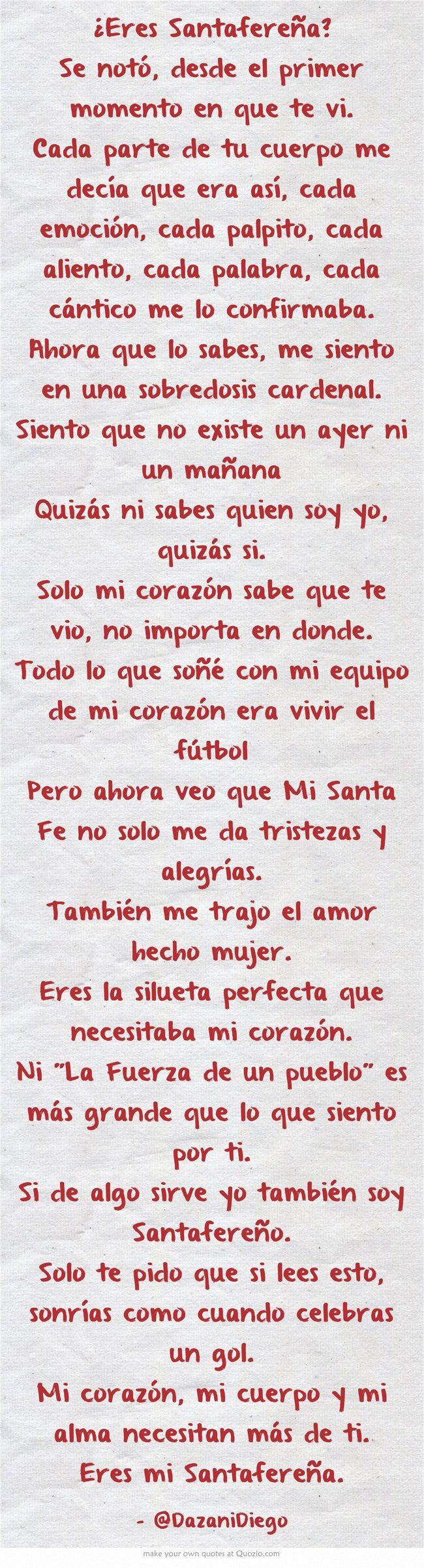 ¿Eres Santafereña? #CISF #SantaFe