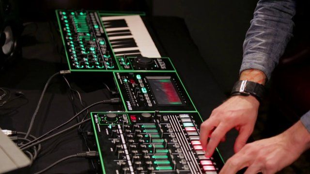 Roland Aira: The Future of Drums, Beats, and Crazy Electronic Sounds. My son really likes his Roland TR-8.  He says it is real easy to use and likes the sound. This has been one of his hobbies for quite a few years.