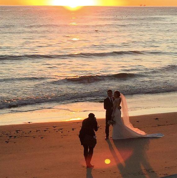 alex morgan wedding pictures | Soccer Star Alex Morgan Marries Servando Carrasco
