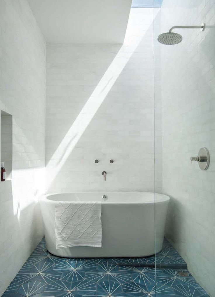 Best 25 long narrow bathroom ideas on pinterest narrow - Narrow shower room design ...