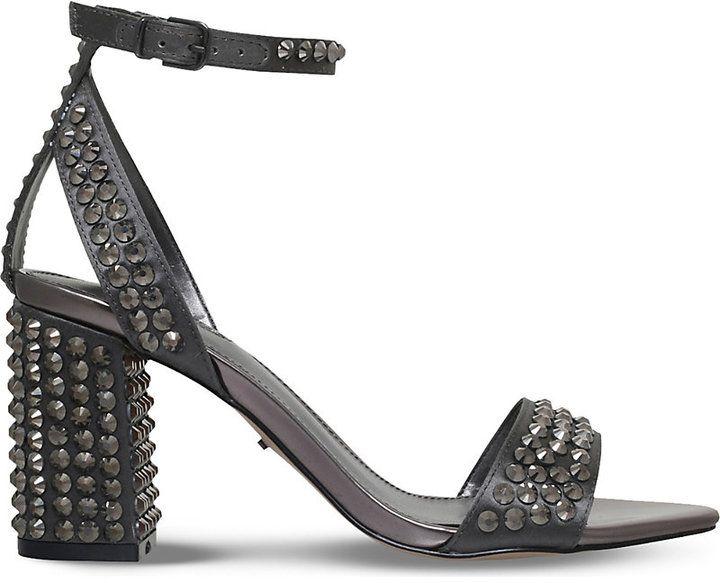 Carvela Gianni studded heeled courts