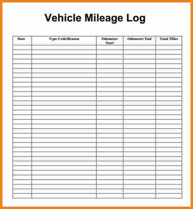 mileage tracker form mileage logging mileage tracker. Black Bedroom Furniture Sets. Home Design Ideas