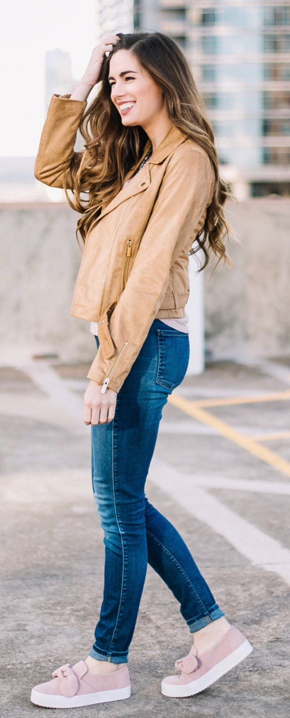 17 best ideas about Camel Leather Jackets on Pinterest | Brown ...