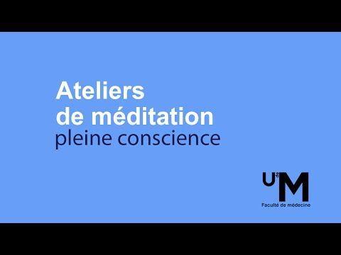 Atelier 3 - Méditation pleine conscience par Hugues Cormier