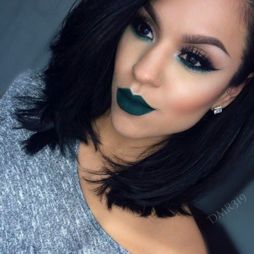 the jewel toned lip color is LIFE! perfect use of neutrals and a pop of color on the eyes
